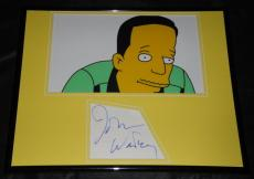 John Waters Signed Framed 11x14 Photo Display PA The Simpsons