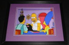 John Waters Signed Framed 8x10 Photo AW The Simpsons