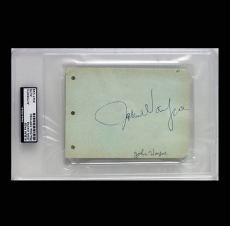 John Wayne Album Page Signed Autographed PSADNA Auto #83471228
