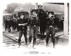 "JOHN WAYNE as COLONEL JOHN MARLOWE in ""THE HORSE SOLDIERS"" Signed 10x8 BxW Photo (Passed Away 1979)"