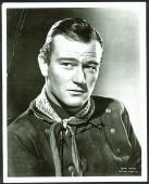 John Wayne Signed 11X14 Black & White Photo Autographed JSA #X67452