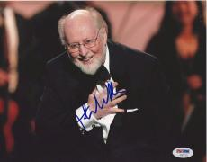 JOHN WILLIAMS (Composer) Signed 8 x10 PHOTO with PSA LOA