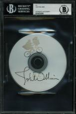 John Williams E.T. Signed 20th Anniversary Soundtrack CD BAS Slabbed