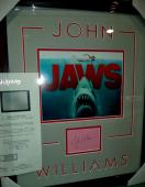 John Williams Jaws Movie Signed Autographed Double Matted & Framed Jsa Loa Rare