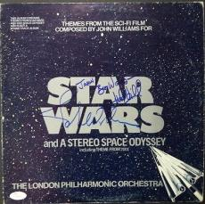 John Williams  & Mark Hamil Star Wars Dual Signed A Space Odyssey Album Jsa Loa