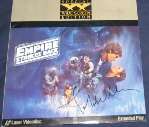 John Williams Music Composer Signed Star Wars Empire Strikes Back Laser Disc