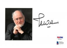 John Williams Signed Authentic Autographed 5x7 Cut w/Photo PSA/DNA #AE03454