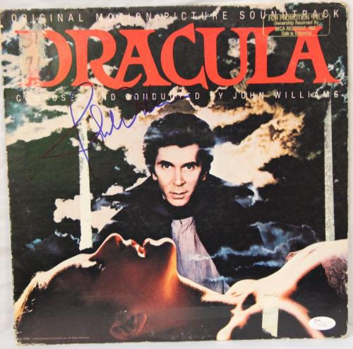 "JOHN WILLIAMS Signed Autographed ""DRACULA"" Album LP JSA #H14763"