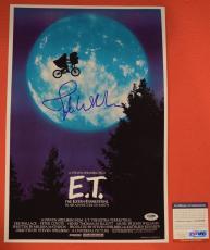 John Williams Signed Autographed E.T. Extra Terrestrial 12x18 Poster PSA/DNA COA