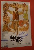 John Williams Signed Autographed Fiddler on the Roof 12x18 Poster PSA/DNA COA