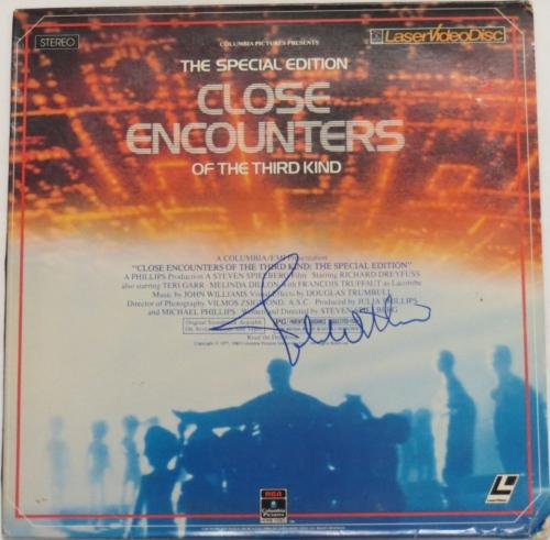 John Williams Signed Close Encounters Autographed Album Cover PSA/DNA #AB14670