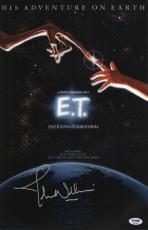 Signed John Williams Picture - E t The Extra Terrestrial 11x17 Movie Poster Psa P45690