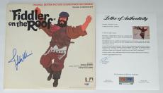 John Williams Signed Fiddler On The Roof Soundtrack Lp Psa Loa Ad03204