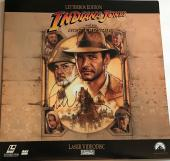 John Williams signed indiana jones movie album laser disc psa dna loa