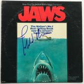 John Williams signed Jaws movie soundtrack album autographed beckett loa
