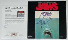 John Williams Signed Jaws Soundtrack Record Album Psa Loa Ad03207