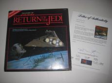 JOHN WILLIAMS Signed RETURN OF THE JEDI Album w/ PSA LOA