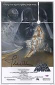 John Williams Signed Star Wars 11x17 Movie Poster Psa Coa P45687