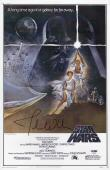 John Williams Signed Star Wars 11x17 Movie Poster Psa Coa P45693