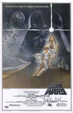 John Williams Signed Photo - Star Wars 11x17 Movie Poster Psa Coa P45694