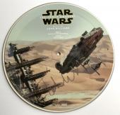 John Williams signed star wars album the force awakens picture disk rsd psa dna
