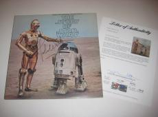 JOHN WILLIAMS Signed STAR WARS Album w/ PSA LOA