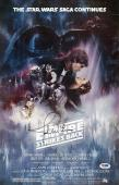 John Williams Signed Star Wars Empire Strikes Back 11x17 Movie Poster Psa P45689