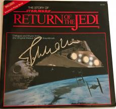John Williams signed star wars album return of the Jedi rotj movie psa dna loa