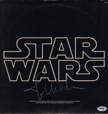 John Williams Signed Star Wars Soundtrack Record Album Psa Loa Ad03206