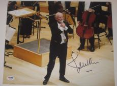 JOHN WILLIAMS (Star Wars Composer) Signed 11x14 PHOTO w/ PSA LOA