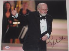 JOHN WILLIAMS (Star Wars Composer) Signed 11x14 PHOTO w/ PSA LOA & Graded 10