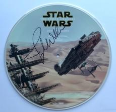 John Williams Star Wars signed album the force awakens picture disk rsd beckett