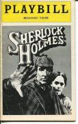 John Wood Philip Locke Barbara Leigh-Hunt Sherlock Holmes Dec 1974 Playbill