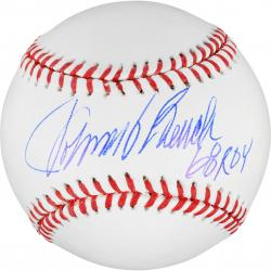 Johnny Bench Autographed Ball - ROY 68 Mounted Memories