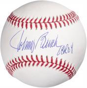 Johnny Bench Cincinnati Reds Autographed Baseball with ROY 68 Inscription