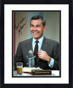 JOHNNY CARSON (TV HOST/COMEDIAN) Passed Away 2005 Signed 8x10 Color Photo