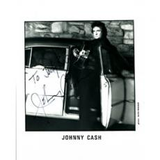 Johnny Cash Autographed / Signed 8x10 Photo