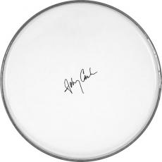 Johnny Cash Autographed Facsimile Signed Clear Drumhead