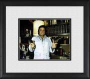 "Johnny Cash Framed 8"" x 10"" at Home Holding Guns Photograph"