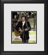 "Johnny Cash Framed 8"" x 10"" on Stage Photograph"
