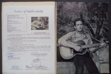 Johnny Cash June Carter Music Legends Signed Autographed 1966 Song Book Jsa Loa