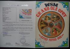 Johnny Cash Music Legend Signed Autographed 1969 Grand Ole Opry Program Jsa Loa