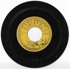 "Johnny Cash Music Legend Signed Autographed ""come In Stranger"" 45 Vinyl Coa Rare"