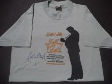 Johnny Cash Music Legend Signed Autographed Size M Shirt W/coa Rare Authentic