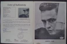 Johnny Cash Music Legend Signed Autographed Vintage Souvenir Program Jsa Loa