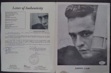 Johnny Cash Music Legend Signed Autographed Vintage Souvenir Program Jsa Loa