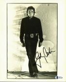 Johnny Cash Signed 8x10 Black & White Photo Autographed BAS #D07698