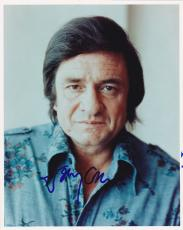 Johnny Cash Signed 8x10 Photo Authentic In-person Autograph Music Icon Rare Coa