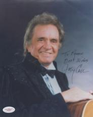 Johnny Cash Signed AUTOGRAPH 8x10 Photo JSA