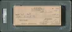 Johnny Cash Signed Autographed Hand Written 1982 Bank Check PSA/DNA Authentic